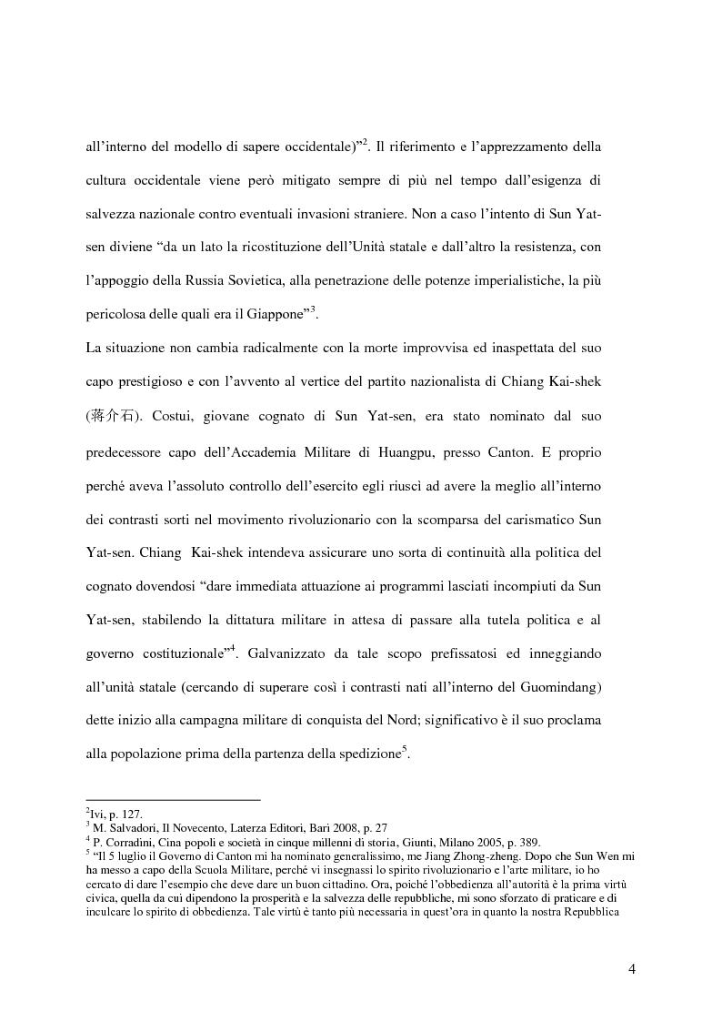 Anteprima della tesi: Taiwan: indipendenza o unificazione con la Cina. Una questione ancora irrisolta., Pagina 5