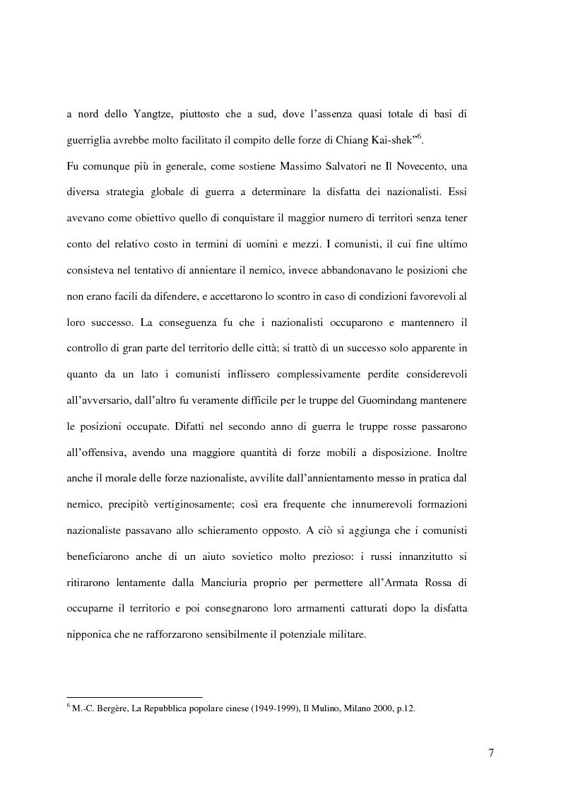 Anteprima della tesi: Taiwan: indipendenza o unificazione con la Cina. Una questione ancora irrisolta., Pagina 8