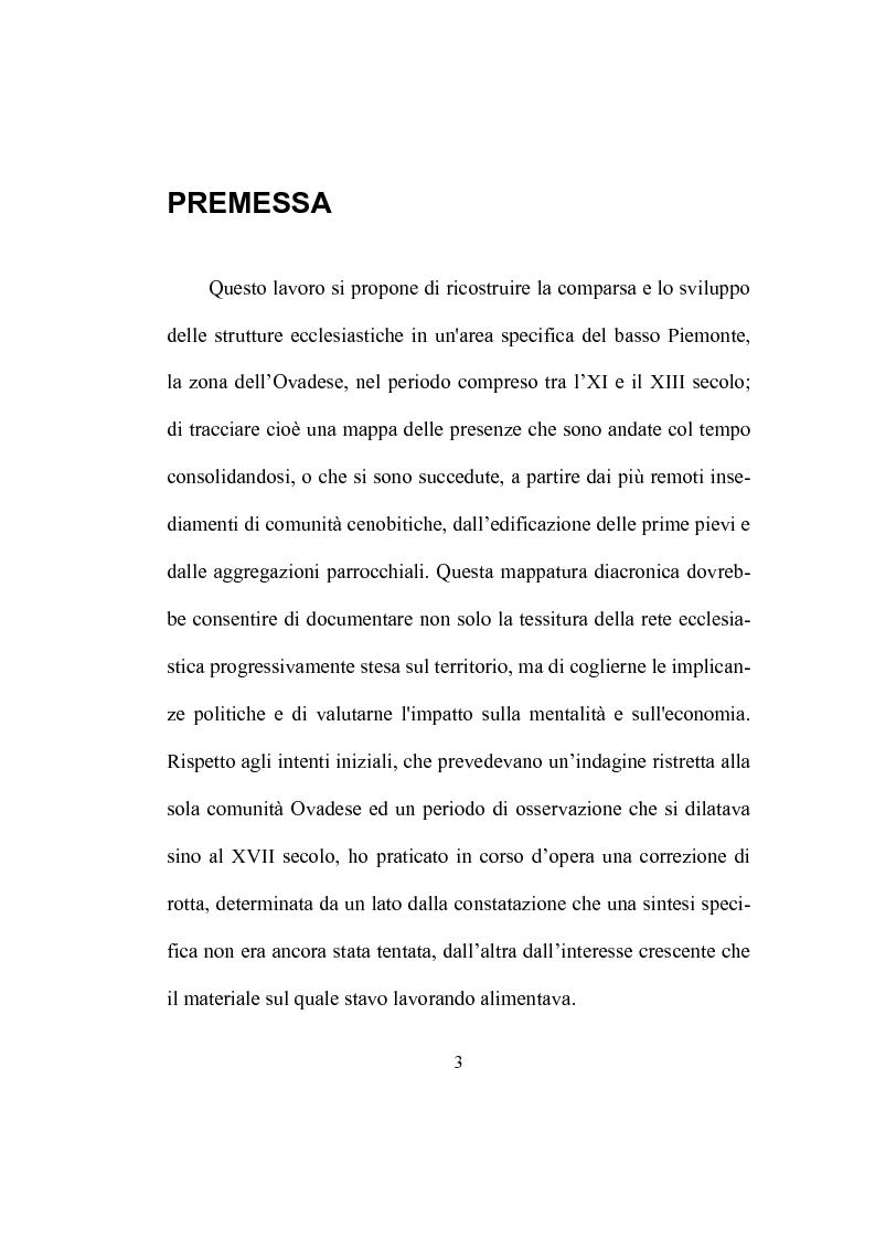Anteprima della tesi: Strutture ecclesiastiche dell'Ovadese medioevale, Pagina 2