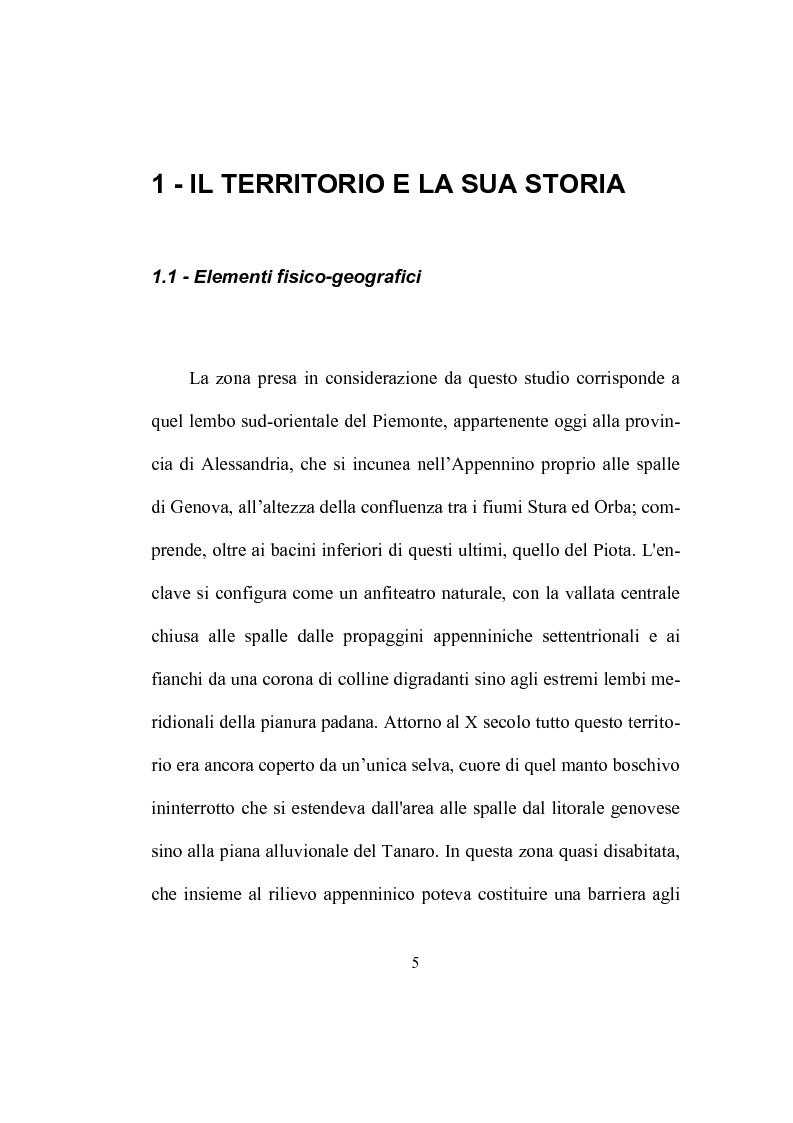 Anteprima della tesi: Strutture ecclesiastiche dell'Ovadese medioevale, Pagina 4