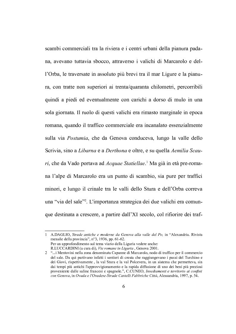 Anteprima della tesi: Strutture ecclesiastiche dell'Ovadese medioevale, Pagina 5