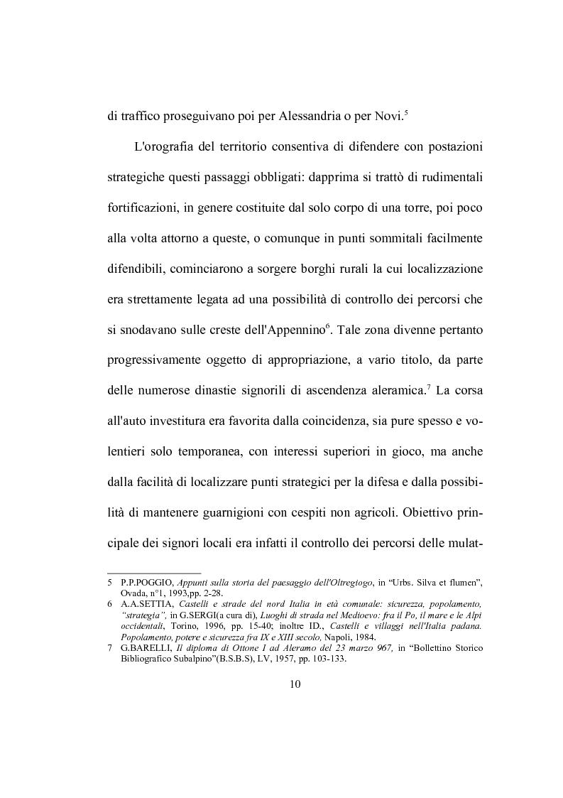 Anteprima della tesi: Strutture ecclesiastiche dell'Ovadese medioevale, Pagina 9