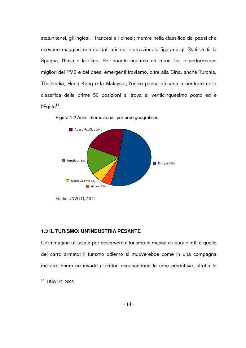 Anteprima della tesi: Il turismo responsabile: il caso Guariquén nella repubblica Dominicana, Pagina 12
