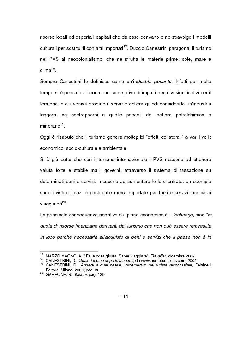Anteprima della tesi: Il turismo responsabile: il caso Guariquén nella repubblica Dominicana, Pagina 13
