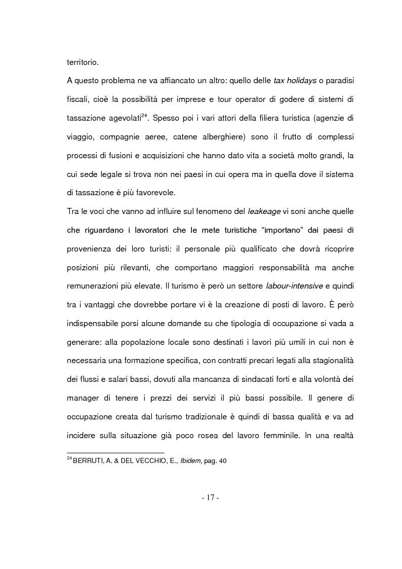 Anteprima della tesi: Il turismo responsabile: il caso Guariquén nella repubblica Dominicana, Pagina 15