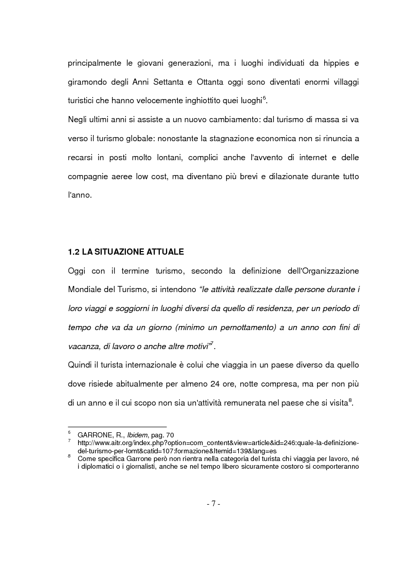 Anteprima della tesi: Il turismo responsabile: il caso Guariquén nella repubblica Dominicana, Pagina 5