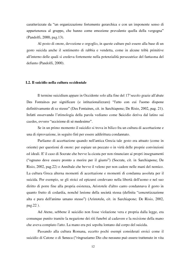 Anteprima della tesi: Il suicidio in carcere: analisi di alcuni istituti penitenziari sardi, Pagina 9