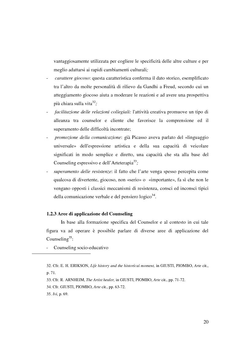 Anteprima della tesi: L'Arte e L'Espressività nel programma educativo e terapeutico di una comunità per minori e adolescenti, Pagina 14
