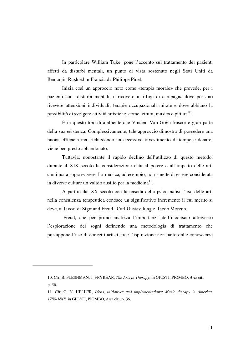 Anteprima della tesi: L'Arte e L'Espressività nel programma educativo e terapeutico di una comunità per minori e adolescenti, Pagina 5