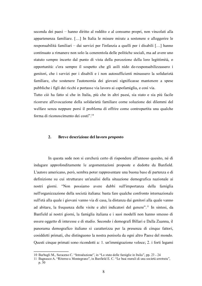 Anteprima della tesi: Il passaggio da gioventù ad età adulta nell'Italia dei primati demografici, Pagina 8