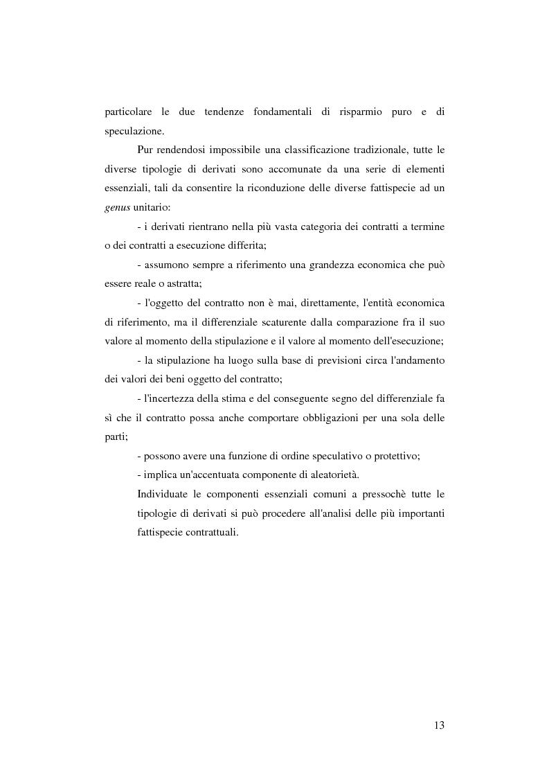 Anteprima della tesi: Gli strumenti finanziari derivati: profili strutturali e funzionali., Pagina 8