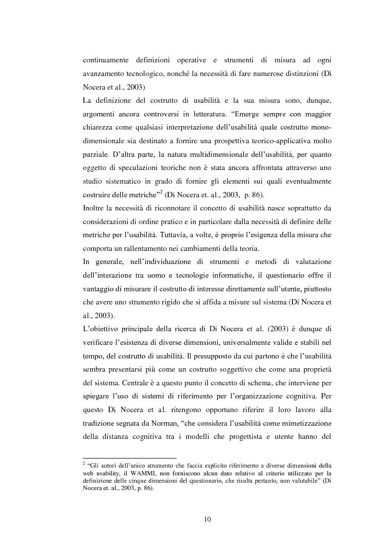 Anteprima della tesi: Bibliotechediroma.it: usabilità percepita dagli utenti e dagli operatori, Pagina 10