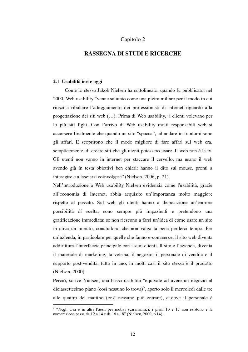 Anteprima della tesi: Bibliotechediroma.it: usabilità percepita dagli utenti e dagli operatori, Pagina 12
