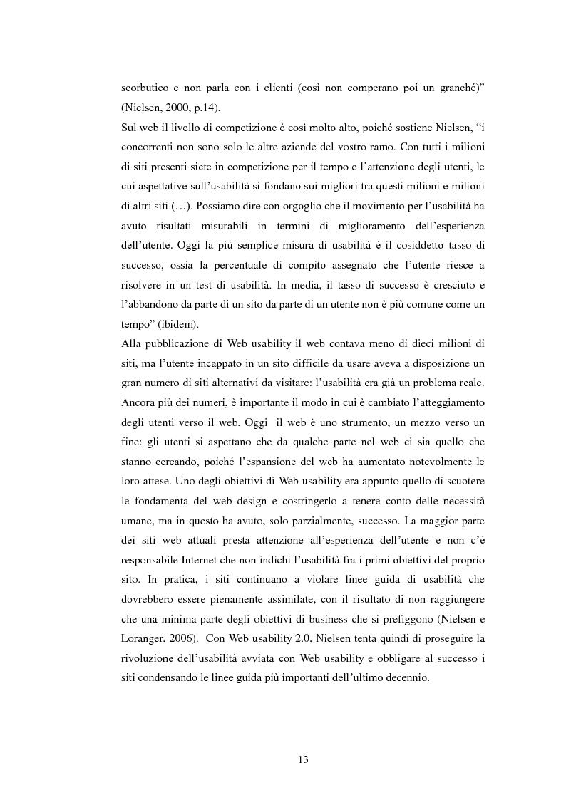Anteprima della tesi: Bibliotechediroma.it: usabilità percepita dagli utenti e dagli operatori, Pagina 13