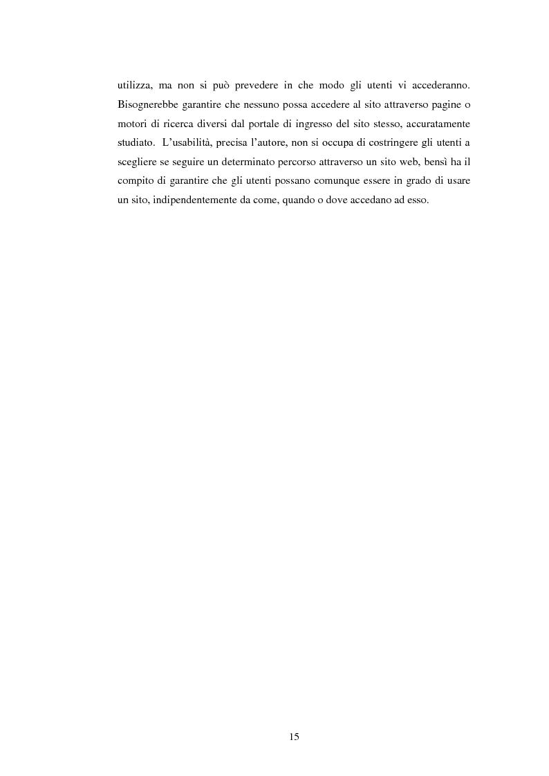 Anteprima della tesi: Bibliotechediroma.it: usabilità percepita dagli utenti e dagli operatori, Pagina 15