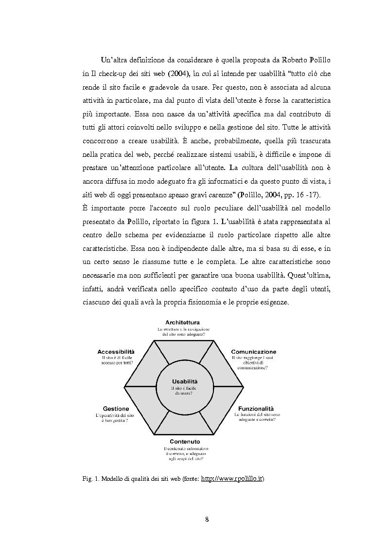 Anteprima della tesi: Bibliotechediroma.it: usabilità percepita dagli utenti e dagli operatori, Pagina 8