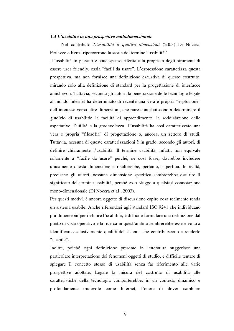 Anteprima della tesi: Bibliotechediroma.it: usabilità percepita dagli utenti e dagli operatori, Pagina 9