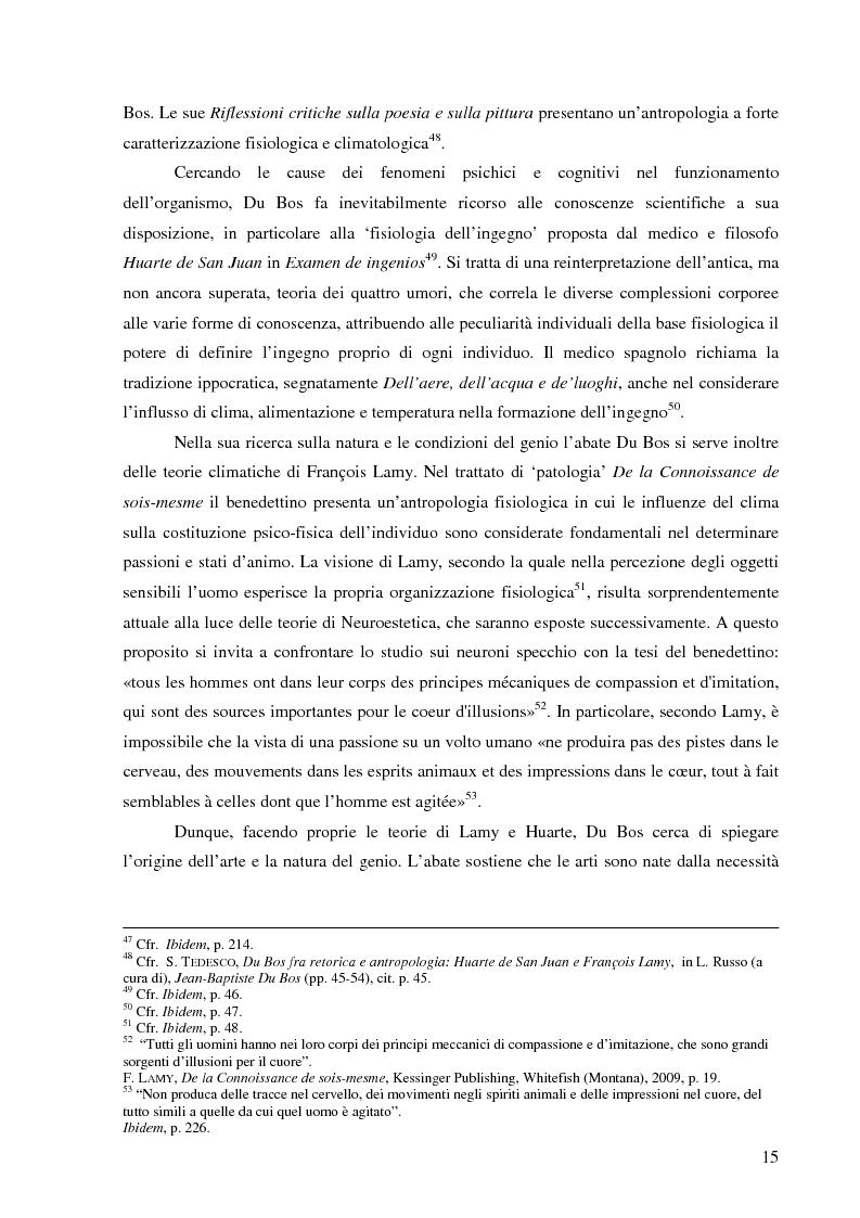 Anteprima della tesi: Il corpo dell'arte. Aspetti e problemi di Neuroestetica, Pagina 13