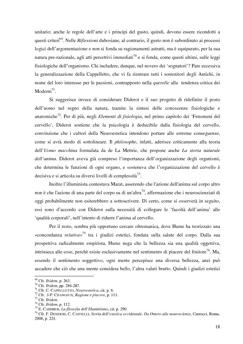 Anteprima della tesi: Il corpo dell'arte. Aspetti e problemi di Neuroestetica, Pagina 16
