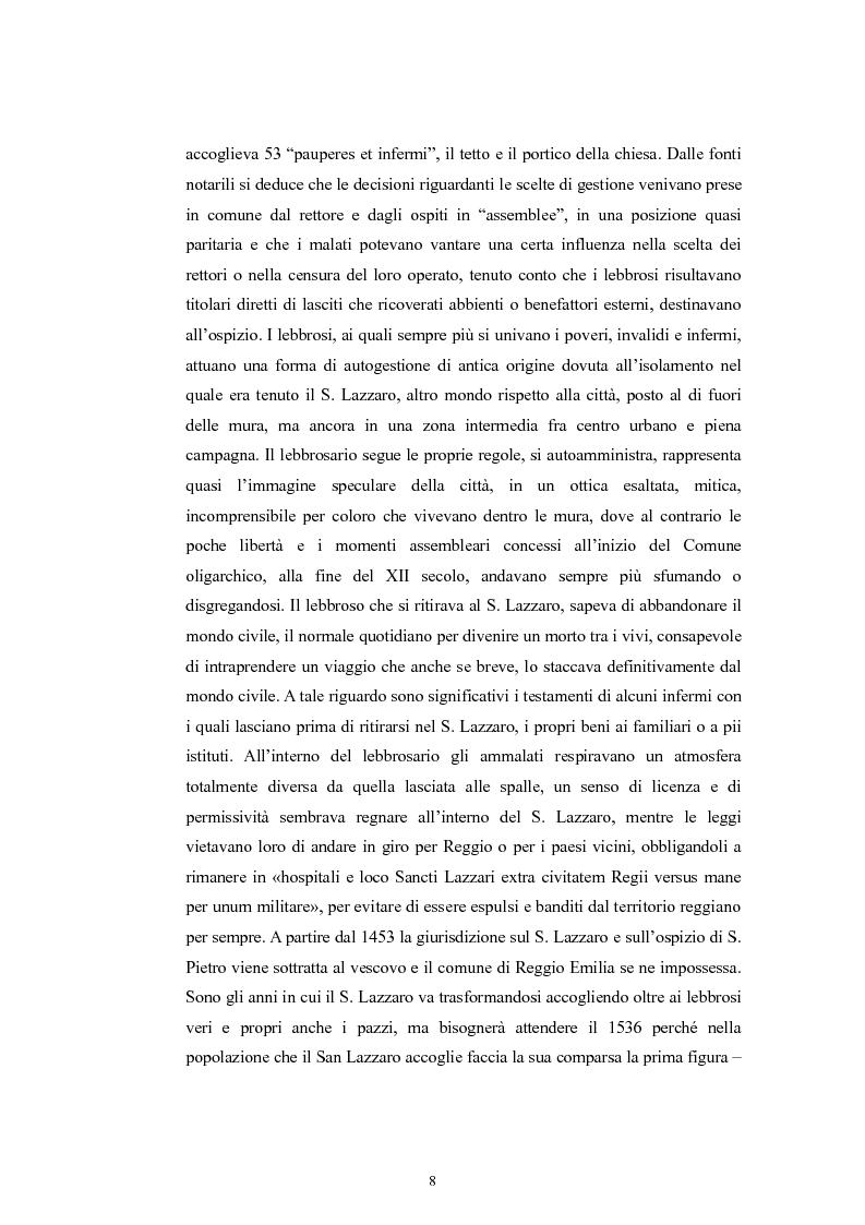 Anteprima della tesi: Per la storia della psichiatria: istituzionalizzazione e dibattito scientifico, Pagina 7