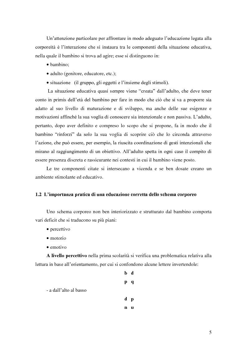 Anteprima della tesi: Formulare un progetto per operatori di psicomotricità sulla base dell'esperienza di tirocinio, Pagina 3