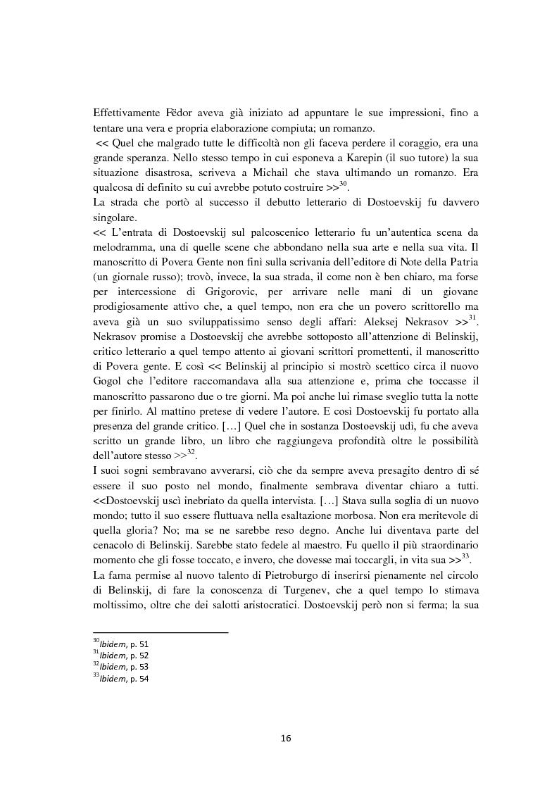 Anteprima della tesi: F. Dostoevskij. Antropologia e polifonia, Pagina 13
