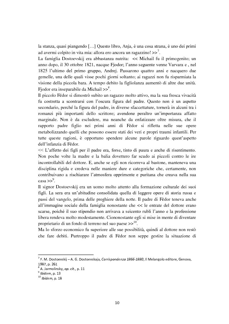 Anteprima della tesi: F. Dostoevskij. Antropologia e polifonia, Pagina 7