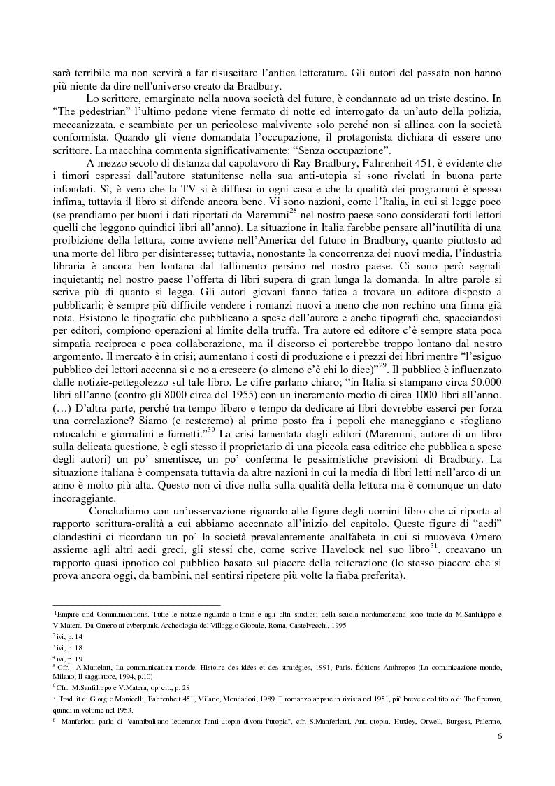 Anteprima della tesi: La comunicazione nella fantascienza, Pagina 12