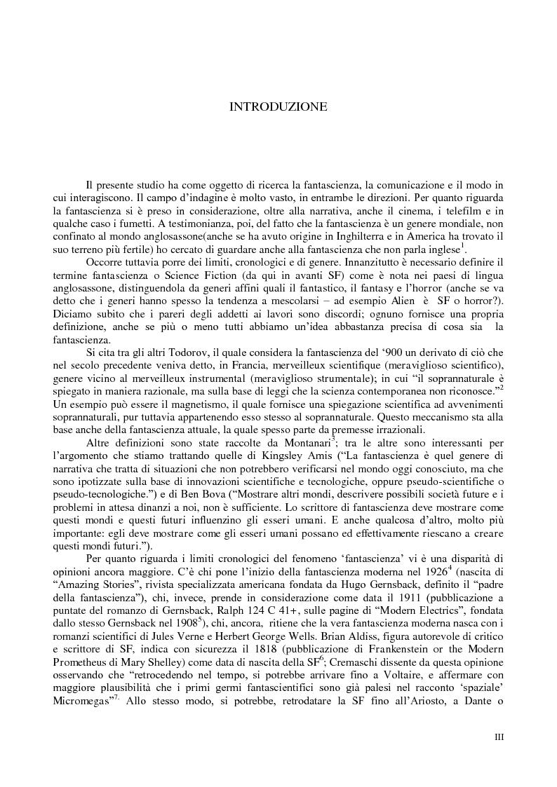 Anteprima della tesi: La comunicazione nella fantascienza, Pagina 2