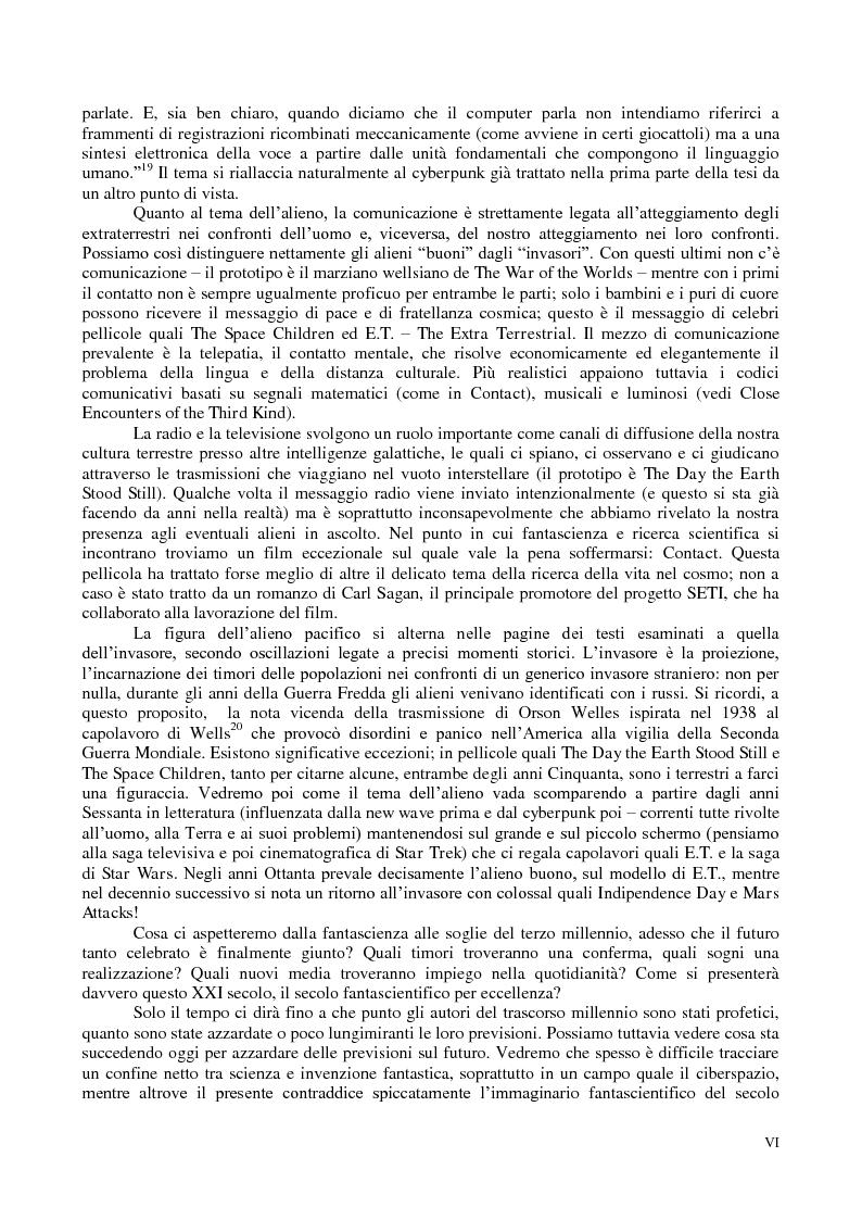 Anteprima della tesi: La comunicazione nella fantascienza, Pagina 5