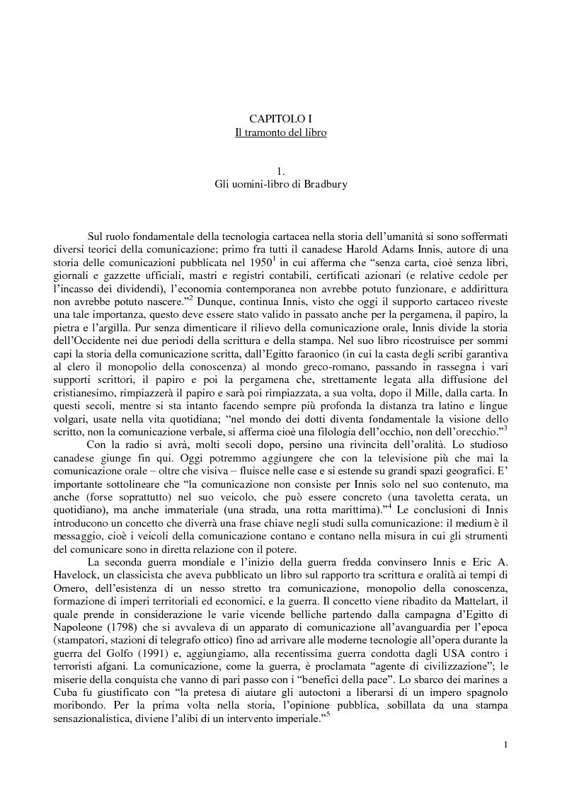 Anteprima della tesi: La comunicazione nella fantascienza, Pagina 7