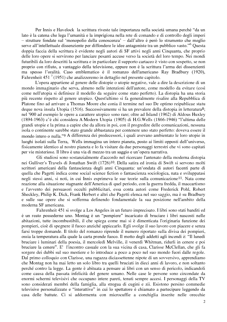 Anteprima della tesi: La comunicazione nella fantascienza, Pagina 8