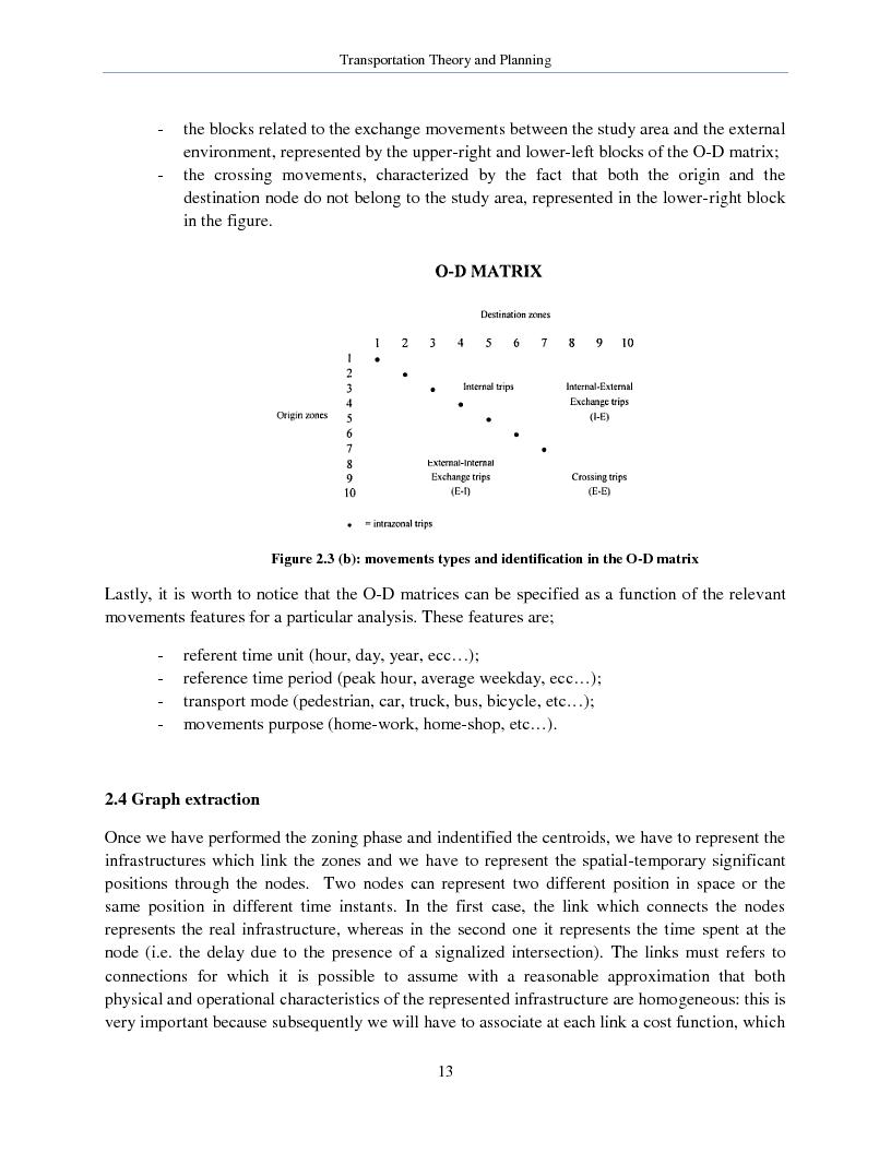 Anteprima della tesi: Transportation Theory and Planning, Pagina 14