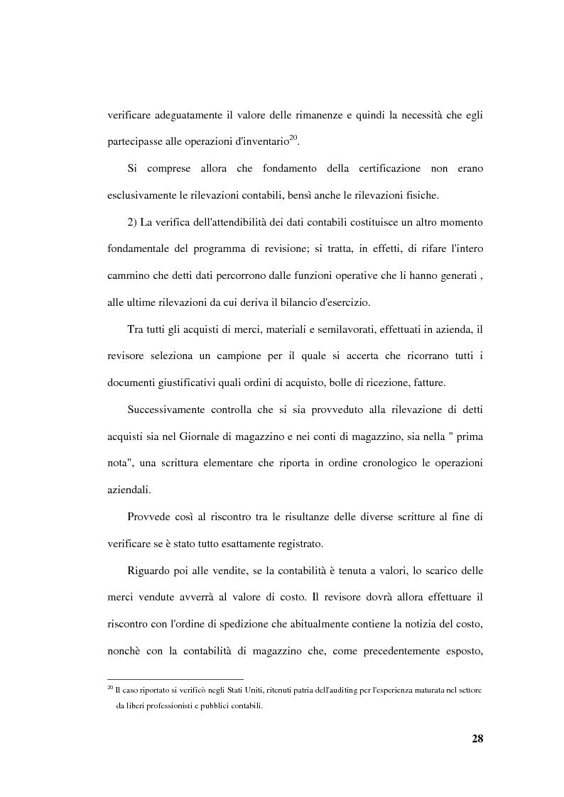 Anteprima della tesi: La revisione delle rimanenze nel bilancio d'esercizio, Pagina 11