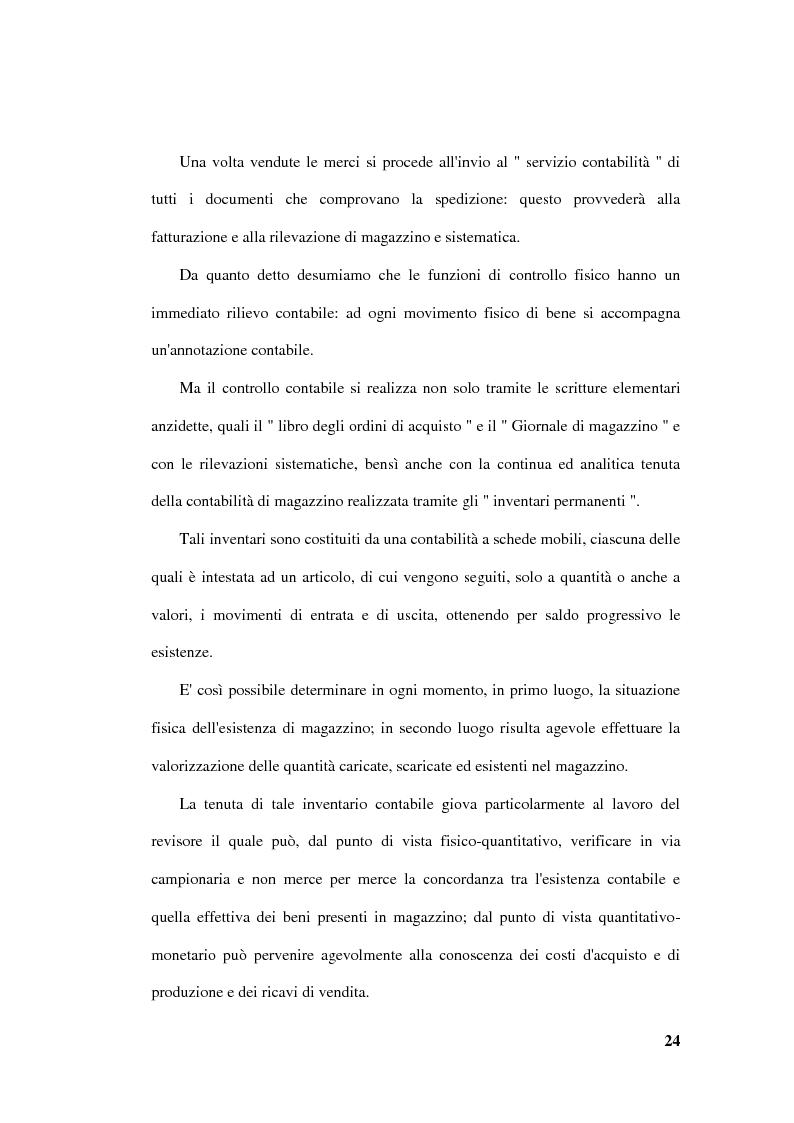 Anteprima della tesi: La revisione delle rimanenze nel bilancio d'esercizio, Pagina 7