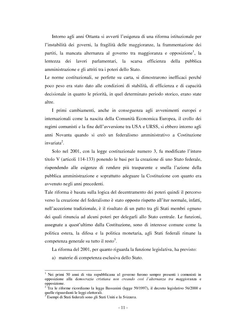 Anteprima della tesi: La relazione previsionale e programmatica. Caratteristiche teoriche e problemi di implementazione., Pagina 6