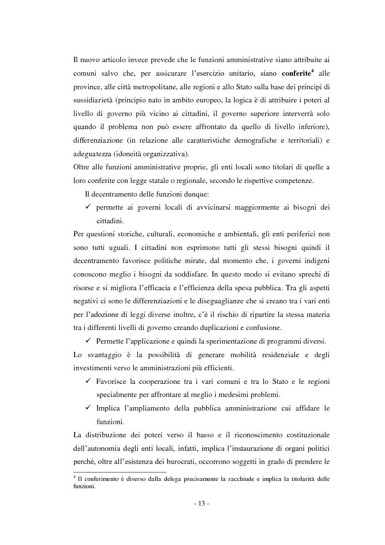 Anteprima della tesi: La relazione previsionale e programmatica. Caratteristiche teoriche e problemi di implementazione., Pagina 8