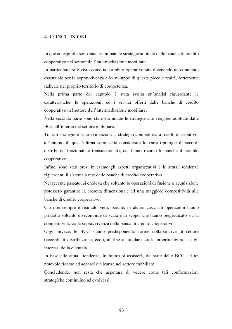 Estratto dalla tesi: Le strategie delle banche di credito cooperativo nel settore dell'intermediazione mobiliare