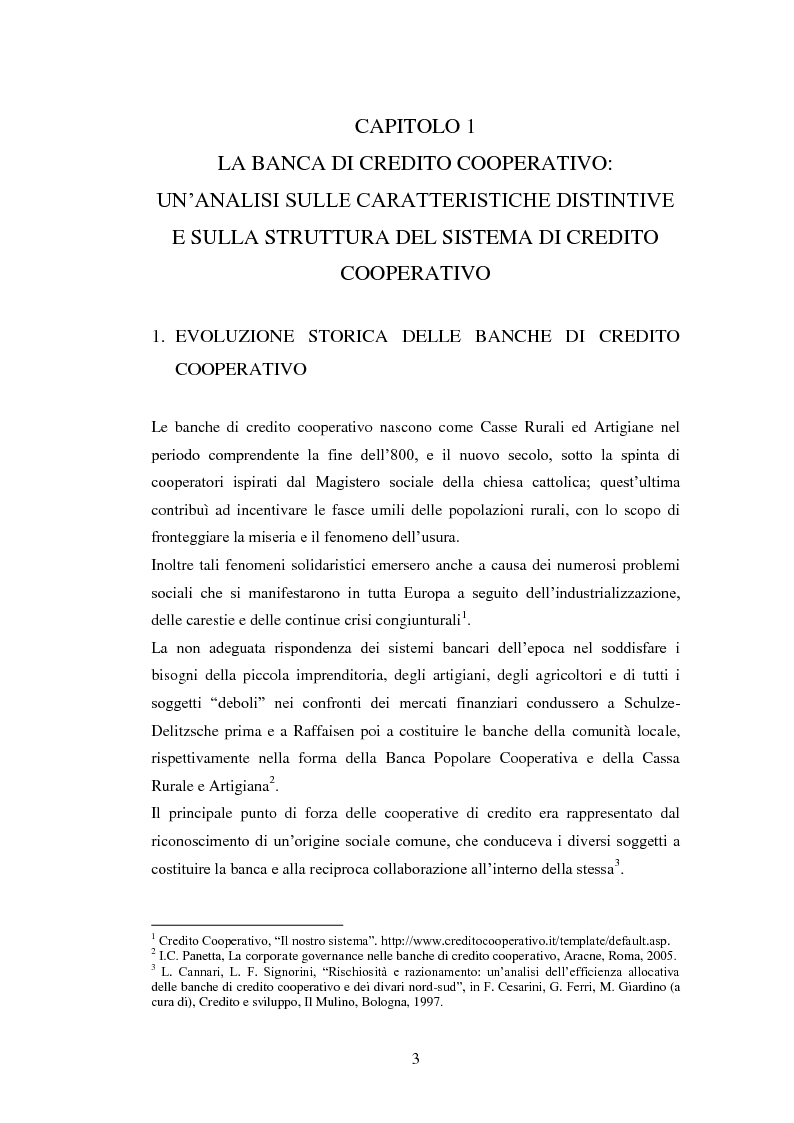 Anteprima della tesi: Le strategie delle banche di credito cooperativo nel settore dell'intermediazione mobiliare, Pagina 4