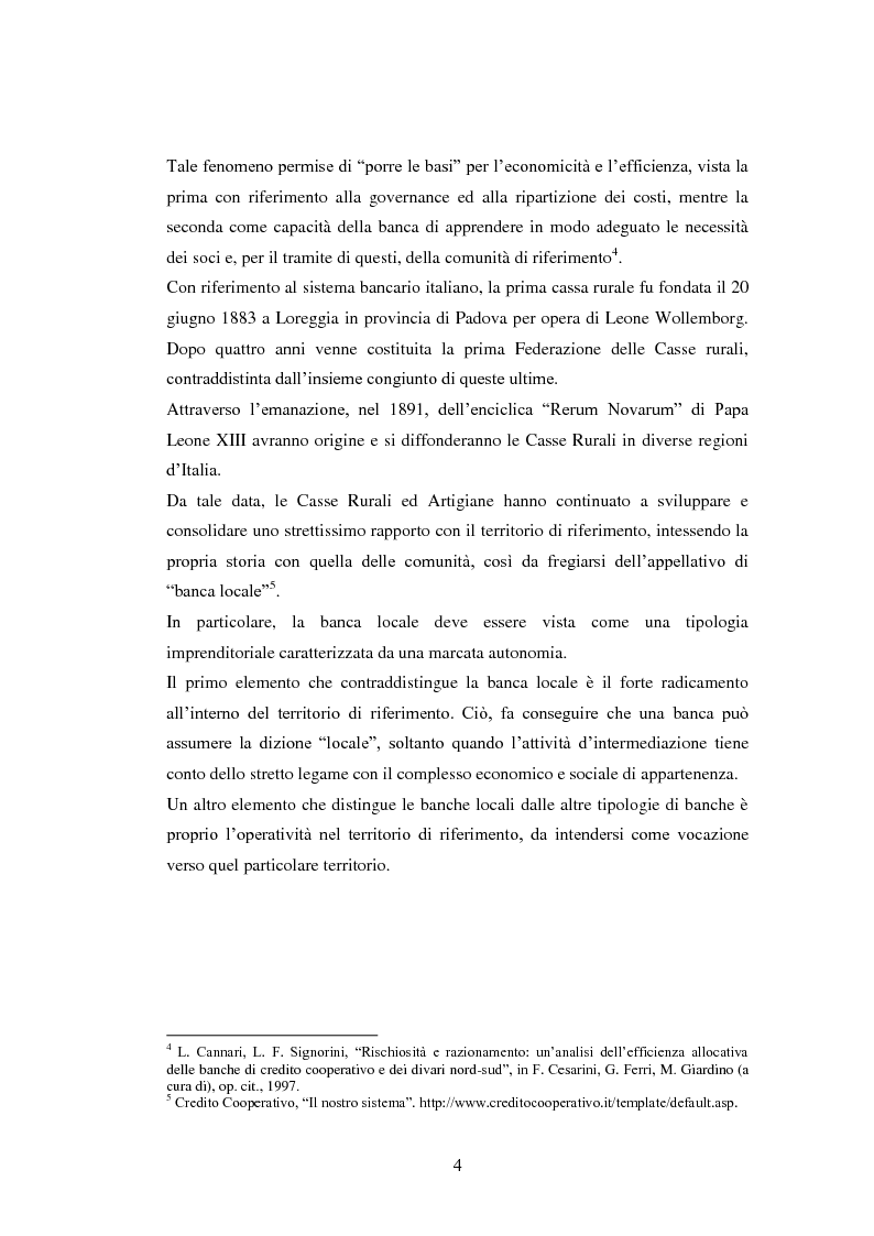 Anteprima della tesi: Le strategie delle banche di credito cooperativo nel settore dell'intermediazione mobiliare, Pagina 5