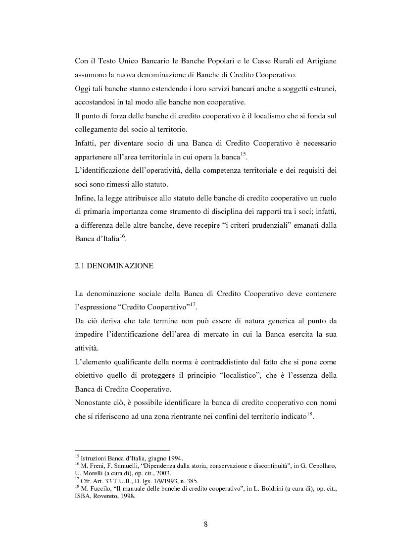 Anteprima della tesi: Le strategie delle banche di credito cooperativo nel settore dell'intermediazione mobiliare, Pagina 9