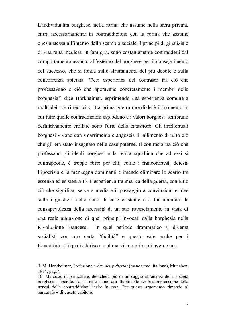 Anteprima della tesi: Herbert Marcuse, tra Marxismo e Teoria Critica , Pagina 12
