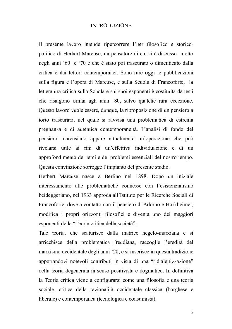 Anteprima della tesi: Herbert Marcuse, tra Marxismo e Teoria Critica , Pagina 2