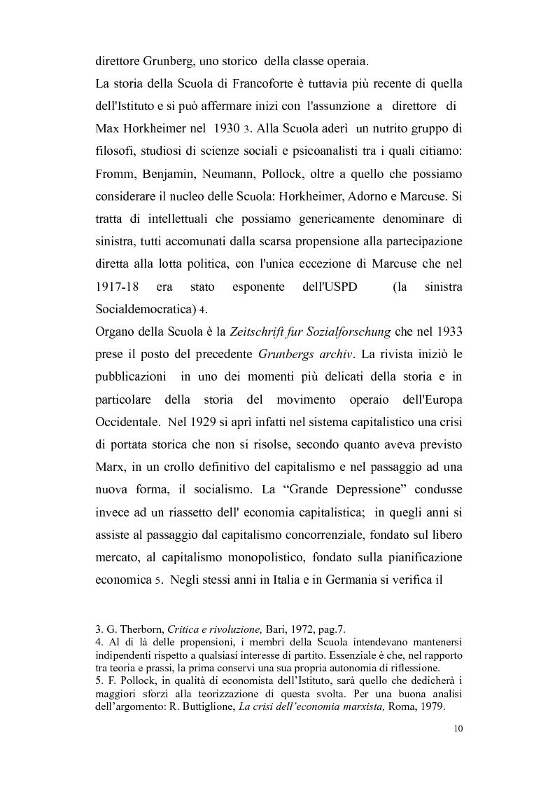 Anteprima della tesi: Herbert Marcuse, tra Marxismo e Teoria Critica , Pagina 7
