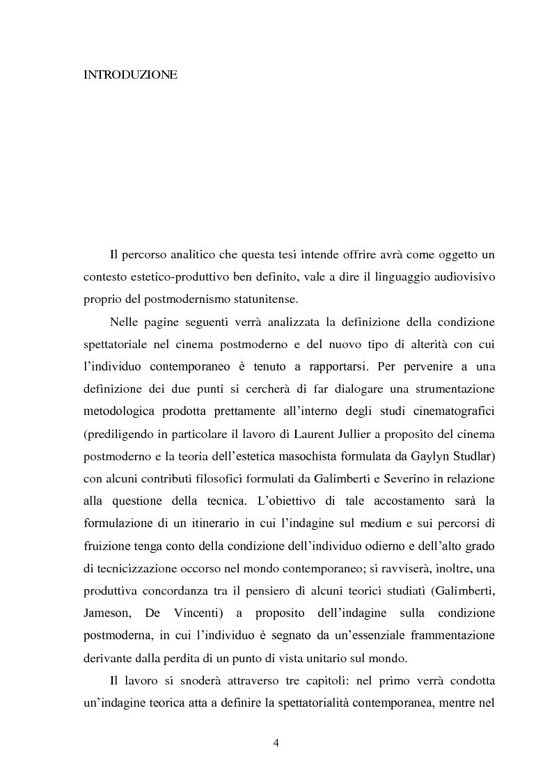 Anteprima della tesi: La madre orale tecnologica. Il rapporto tra lo spettatore e l'alterità nel cinema postmoderno, Pagina 2