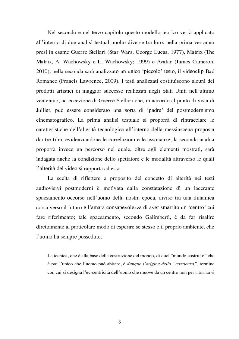 Anteprima della tesi: La madre orale tecnologica. Il rapporto tra lo spettatore e l'alterità nel cinema postmoderno, Pagina 4