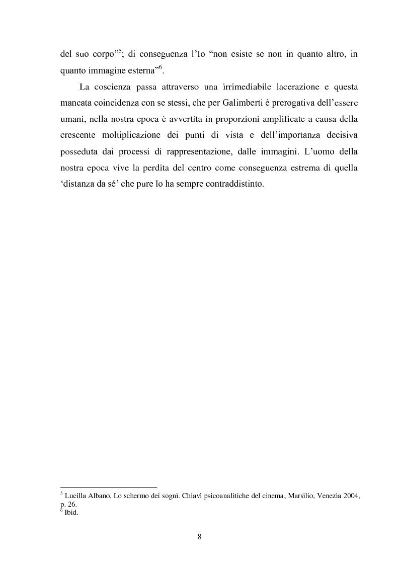 Anteprima della tesi: La madre orale tecnologica. Il rapporto tra lo spettatore e l'alterità nel cinema postmoderno, Pagina 6