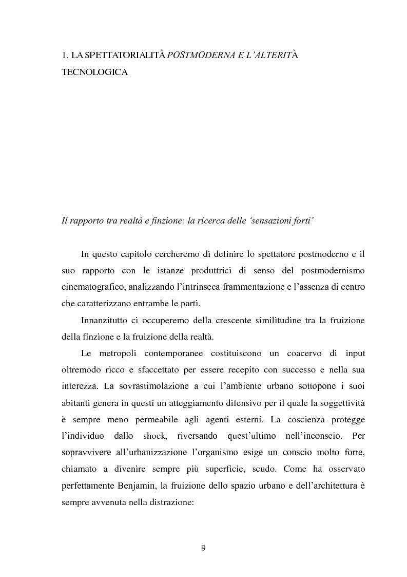 Anteprima della tesi: La madre orale tecnologica. Il rapporto tra lo spettatore e l'alterità nel cinema postmoderno, Pagina 7