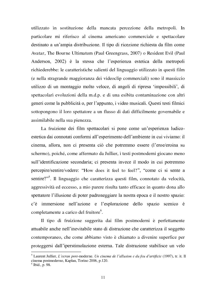 Anteprima della tesi: La madre orale tecnologica. Il rapporto tra lo spettatore e l'alterità nel cinema postmoderno, Pagina 9