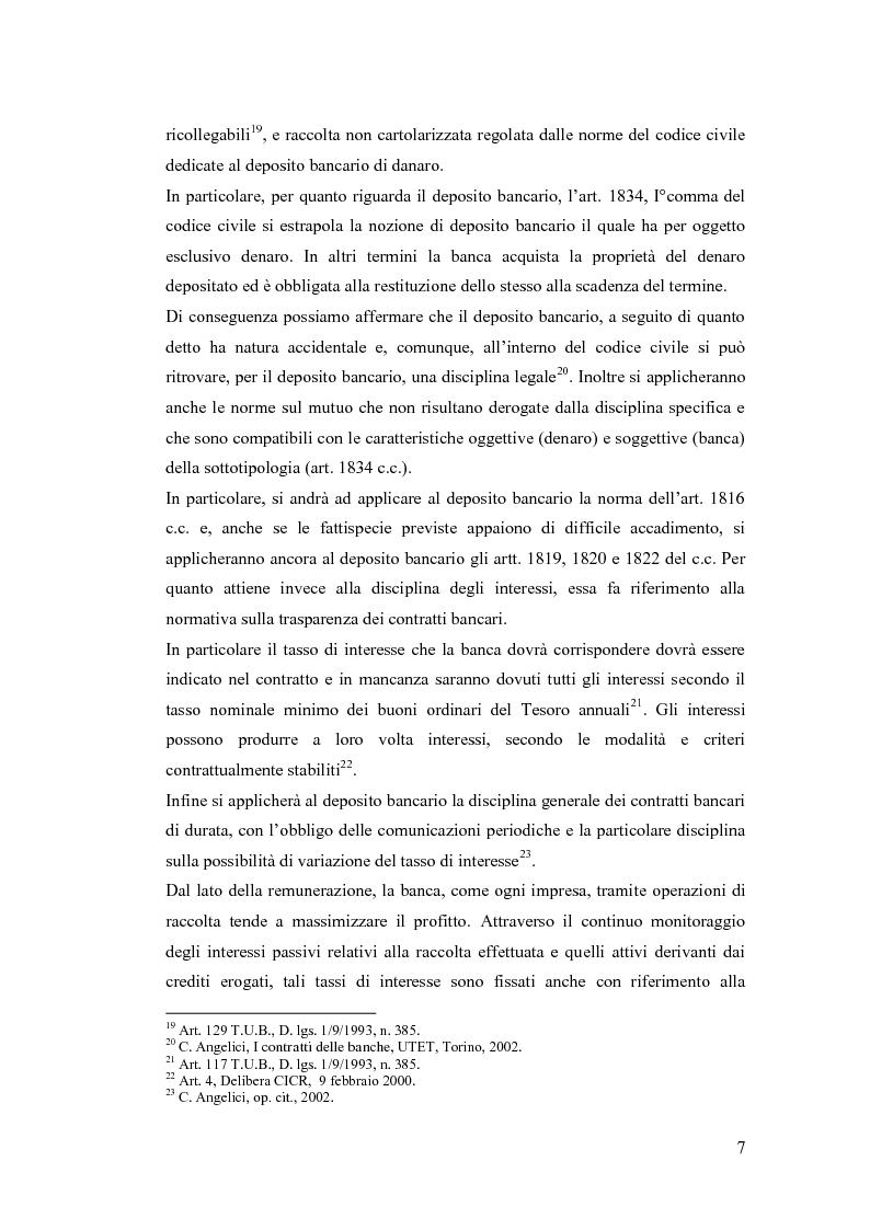 Anteprima della tesi: L'evoluzione delle forme di raccolta nelle banche, Pagina 8